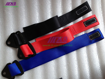 ST style Universal Racing car tow strap/tow ropes/Hook/Towing Bars with logo