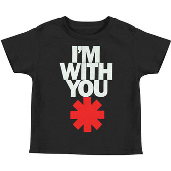 Red Hot Chili Peppers Boys 'IWY Asteric Çocuk T-shirt Siyah