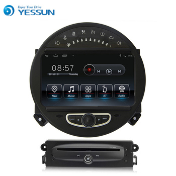 Liislee Android Araba GPS Navigasyon oynatıcı BMW Mini Için 2006 ~ 2013 Multimedya Ses Video Radyo Android Bluetooth Stereo