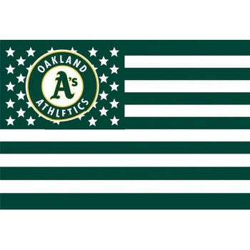 Oakland Athletics MLB Major League Baseball Bayrak sıcak satmak mal 3X5FT 150X90 CM Banner pirinç metal delik OA03