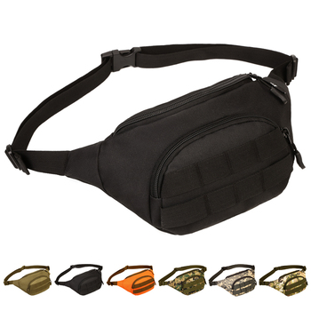 Outdoor sports Waist packs Simple Nylon Camo MOLLE Expand Climbing Travel Camping Hunting Cycling Audio Pocket