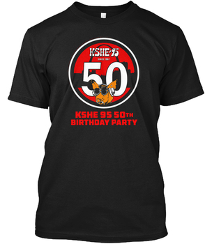 Kshe 95 Birtday Partisi Özel-K. she.95 Beri 1561 Hanes Tagless Tee T-Shirt